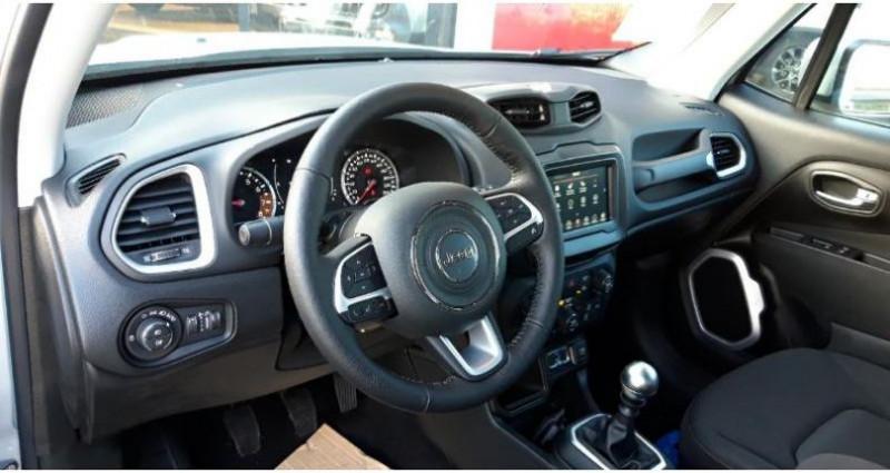 Jeep Renegade 1.0 GSE T3 120ch Quicksilver Winter Edition MY20 Argent occasion à SAINT OUEN L'AUMONE - photo n°6