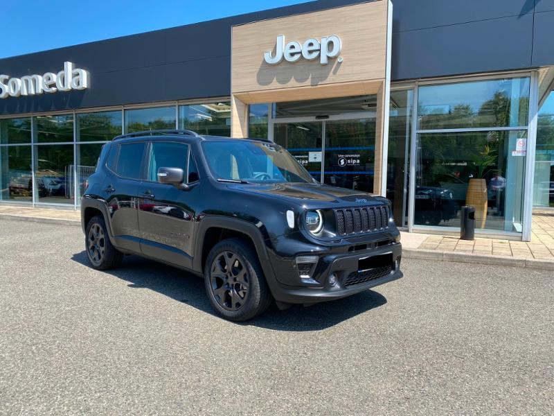 Jeep Renegade 1.3 GSE T4 190ch 4xe 80th Anniversary AT6 MY21 Noir occasion à Toulouse