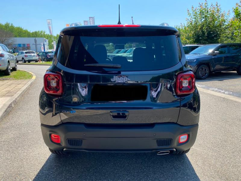 Jeep Renegade 1.3 GSE T4 190ch 4xe 80th Anniversary AT6 MY21 Noir occasion à Toulouse - photo n°4