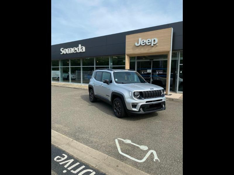 Jeep Renegade 1.3 GSE T4 190ch 4xe 80th Anniversary AT6 MY21 Blanc occasion à Toulouse
