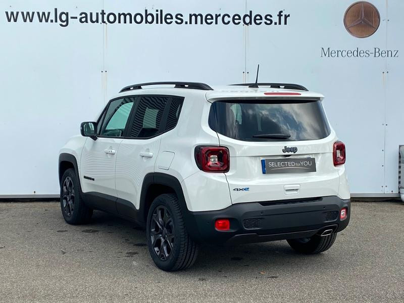 Jeep Renegade 1.3 GSE T4 190ch 4xe Limited AT6 Blanc occasion à PERPIGNAN - photo n°5