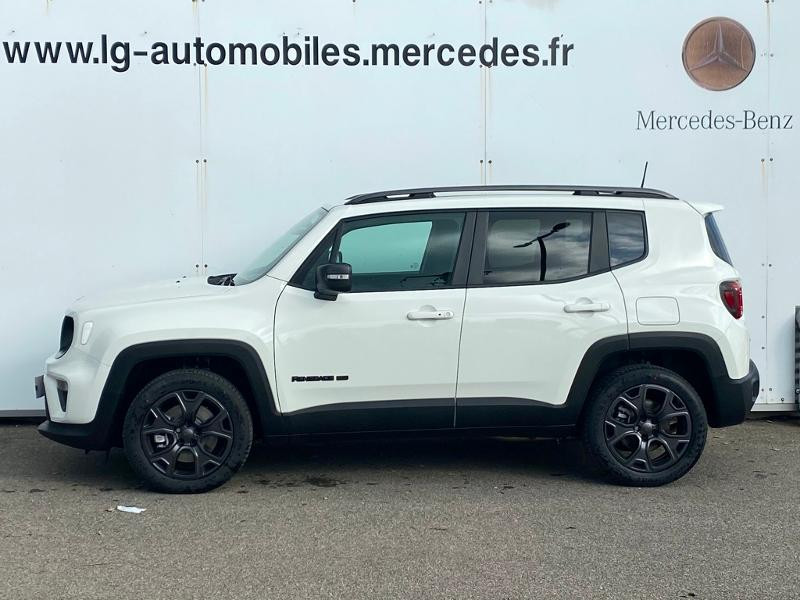 Jeep Renegade 1.3 GSE T4 190ch 4xe Limited AT6 Blanc occasion à PERPIGNAN - photo n°4