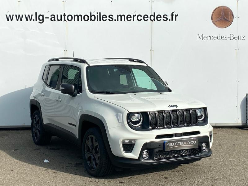 Jeep Renegade 1.3 GSE T4 190ch 4xe Limited AT6 Blanc occasion à PERPIGNAN