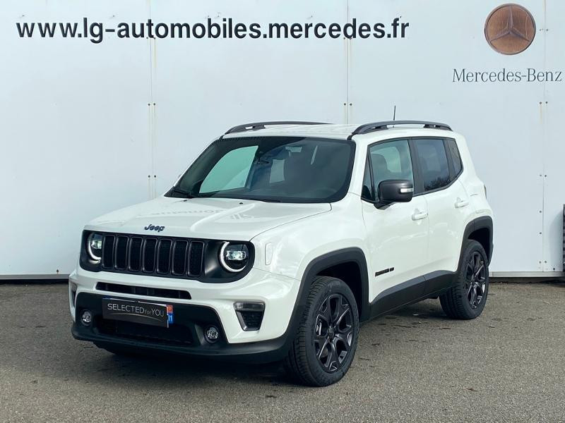 Jeep Renegade 1.3 GSE T4 190ch 4xe Limited AT6 Blanc occasion à PERPIGNAN - photo n°3