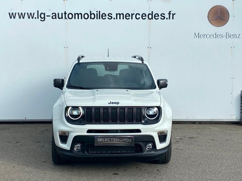 Jeep Renegade 1.3 GSE T4 190ch 4xe Limited AT6 Blanc occasion à PERPIGNAN - photo n°2