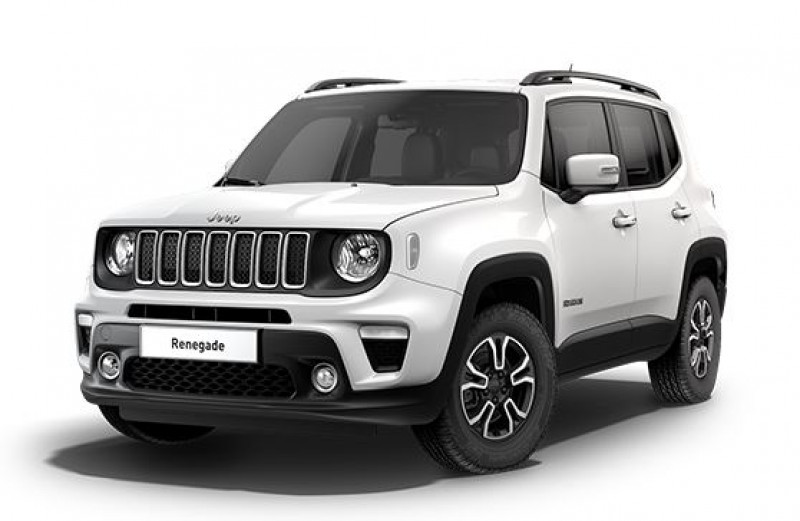 Jeep Renegade 1.3 GSE T4 190ch 4xe Limited AT6 Blanc occasion à SAINT-MAXIMIN