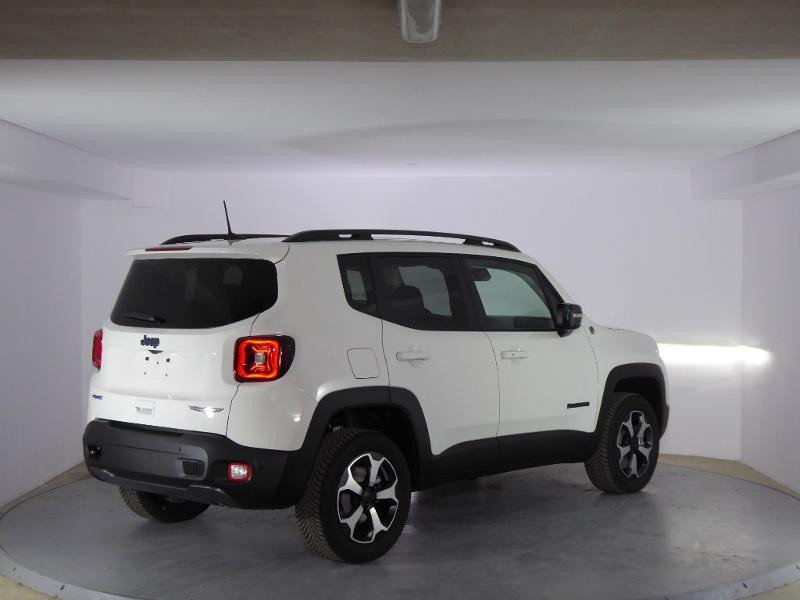 Jeep Renegade 1.3 GSE T4 240ch 4xe Trailhawk AT6 MY21 Blanc occasion à PERPIGNAN - photo n°5