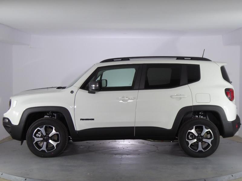 Jeep Renegade 1.3 GSE T4 240ch 4xe Trailhawk AT6 MY21 Blanc occasion à PERPIGNAN - photo n°4