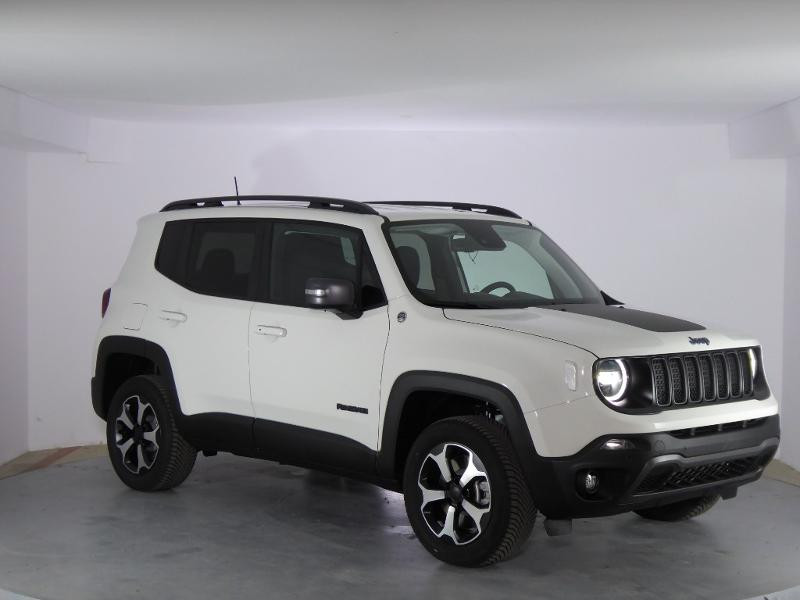 Jeep Renegade 1.3 GSE T4 240ch 4xe Trailhawk AT6 MY21 Blanc occasion à PERPIGNAN