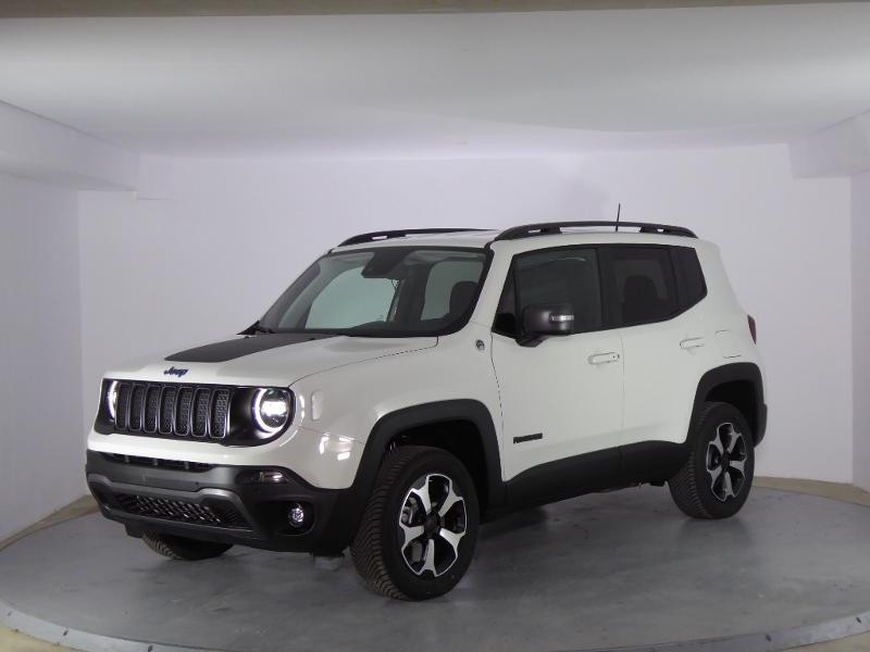 Jeep Renegade 1.3 GSE T4 240ch 4xe Trailhawk AT6 MY21 Blanc occasion à PERPIGNAN - photo n°3