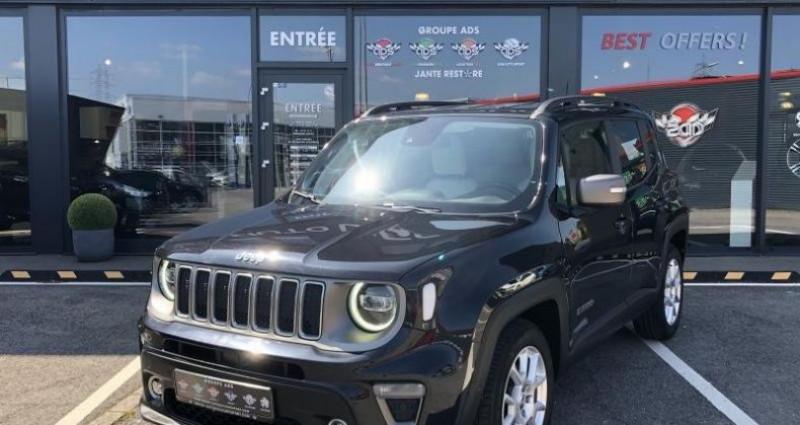Jeep Renegade 1.3 Limited 150CH Noir occasion à FOETZ