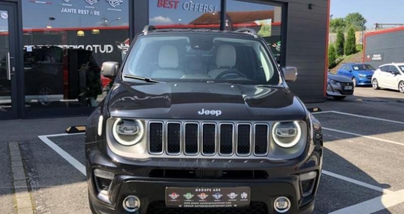 Jeep Renegade 1.3 Limited 150CH Noir occasion à FOETZ - photo n°5