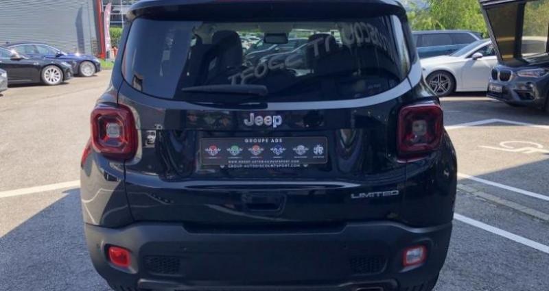 Jeep Renegade 1.3 Limited 150CH Noir occasion à FOETZ - photo n°3