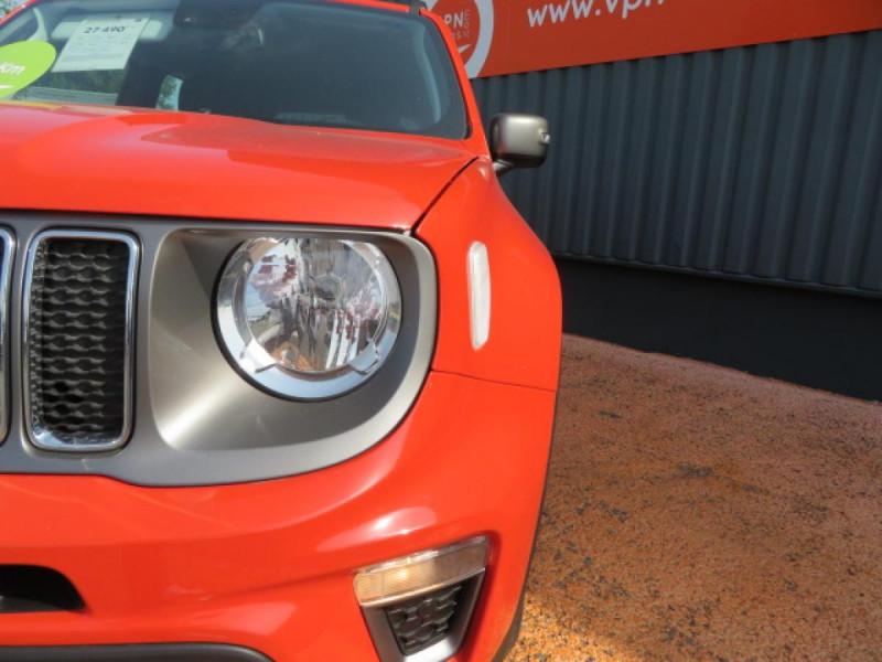 Jeep Renegade 1.3 Turbo T4 150 BVR6 4x2  Limited Orange occasion à Labège - photo n°6