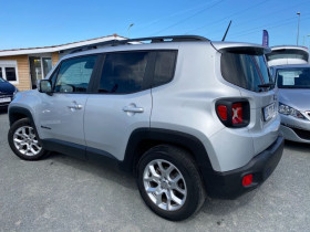 Jeep Renegade 1.4 I MULTIAIR S&S 140 CH LONGITUDE BUSINESS Gris occasion à Biganos - photo n°3