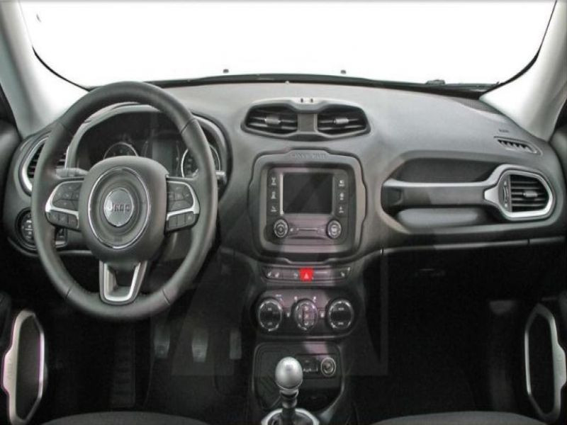 Jeep Renegade 1.4 MultiAir 140 Gris occasion à Beaupuy - photo n°2