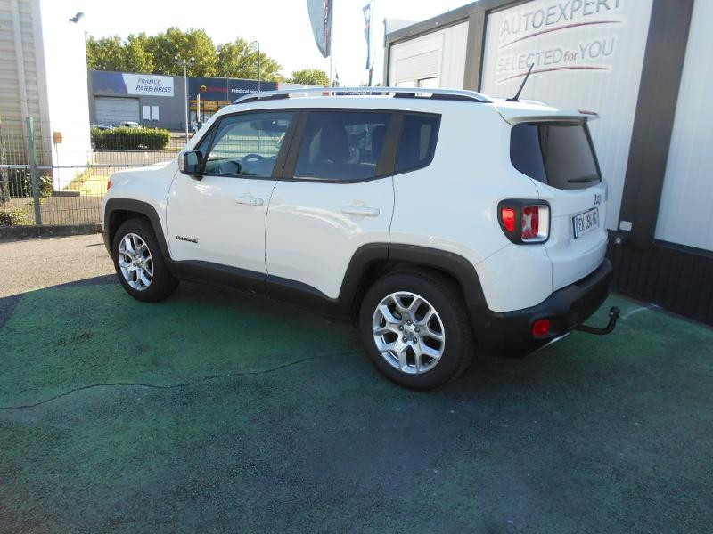 Jeep Renegade 1.4 MultiAir S&S 140ch Limited Blanc occasion à Toulouse - photo n°2