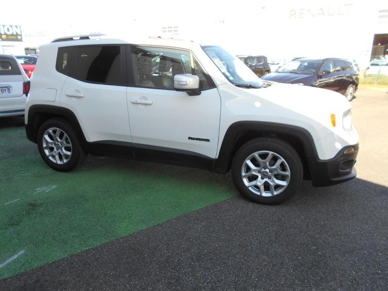 Jeep Renegade 1.4 MultiAir S&S 140ch Limited Blanc occasion à Toulouse - photo n°16