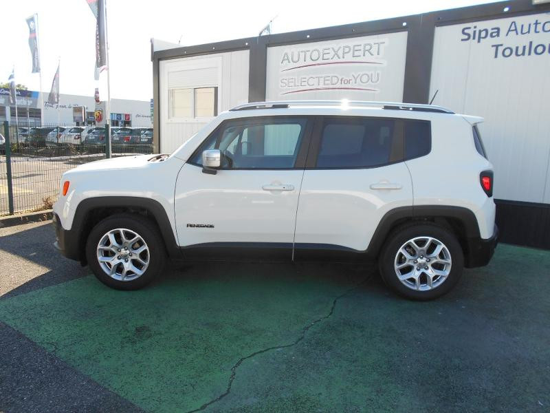 Jeep Renegade 1.4 MultiAir S&S 140ch Limited Blanc occasion à Toulouse - photo n°18