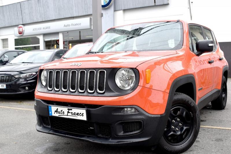 Jeep Renegade 1.6 E.TORQ EVO S&S 110CH SPORT Orange occasion à Neuilly-sur-Marne