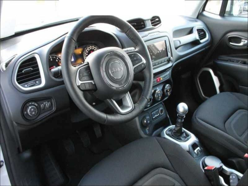 Jeep Renegade 1.6 Multijet 120 Blanc occasion à Beaupuy - photo n°3