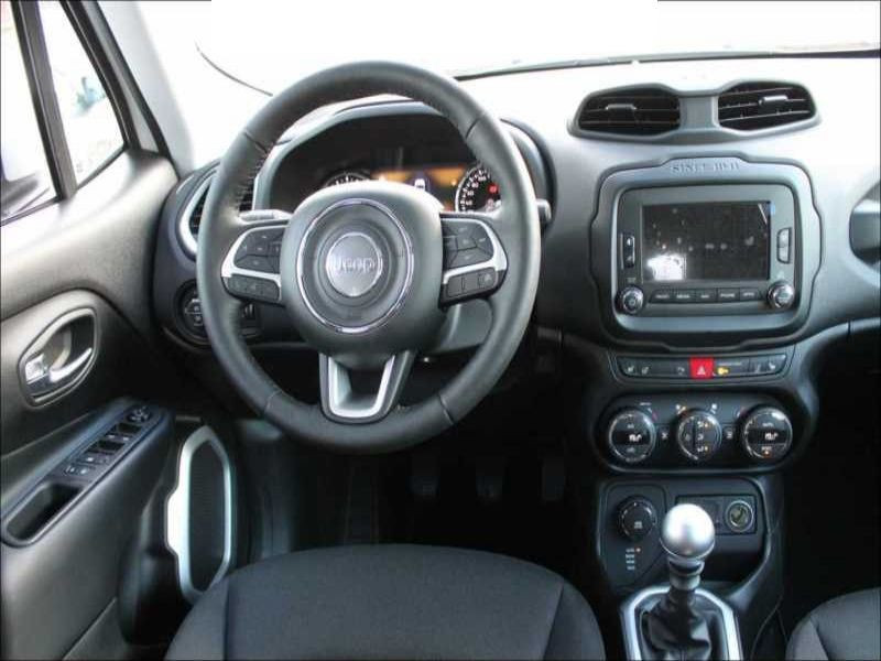 Jeep Renegade 1.6 Multijet 120 Blanc occasion à Beaupuy - photo n°4