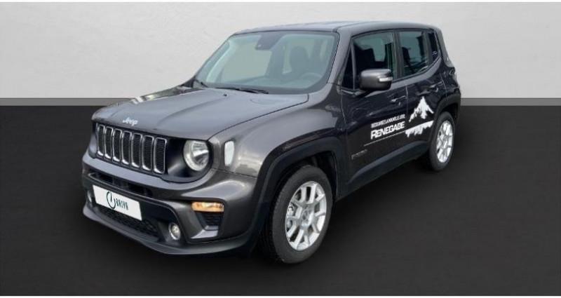 Jeep Renegade 1.6 MultiJet 120ch Business MY20 Gris occasion à Saint-Maximin