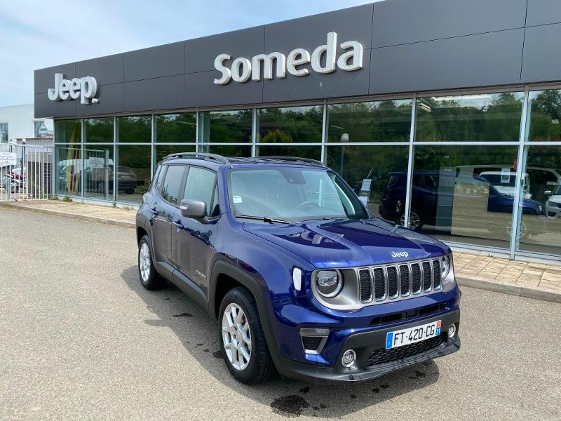 Jeep Renegade 1.6 MultiJet 120ch Limited  occasion à Toulouse - photo n°2