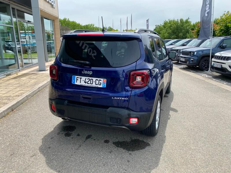 Jeep Renegade 1.6 MultiJet 120ch Limited  occasion à Toulouse - photo n°4