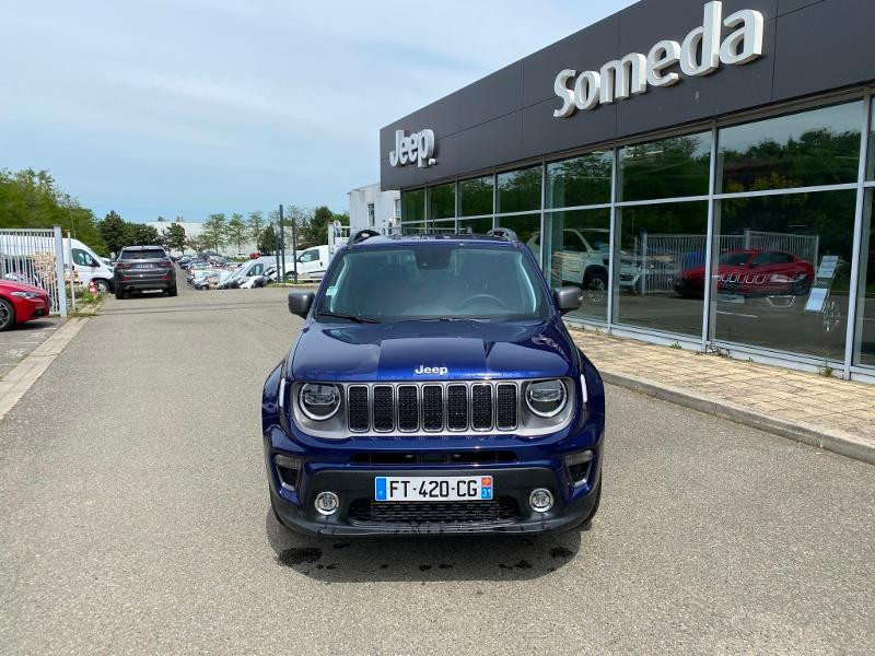 Jeep Renegade 1.6 MultiJet 120ch Limited  occasion à Toulouse