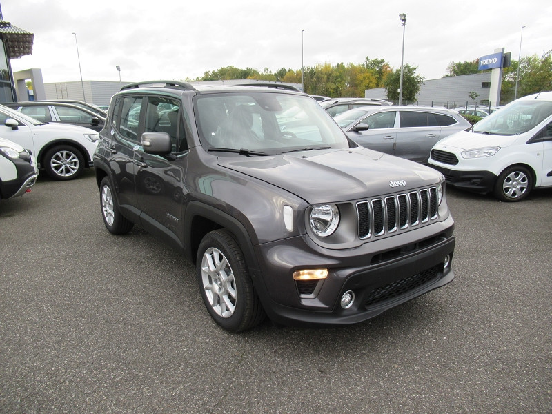 Jeep Renegade 1.6 MULTIJET 120CH LIMITED Gris occasion à Albi - photo n°4