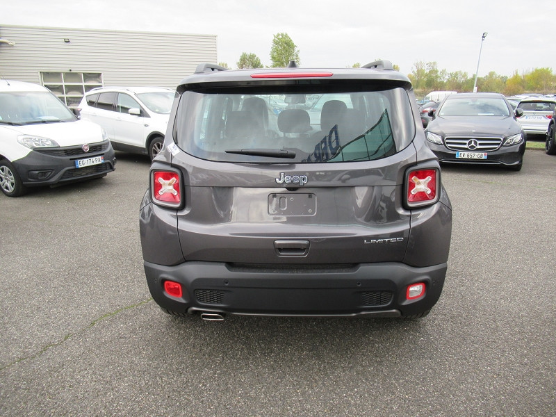 Jeep Renegade 1.6 MULTIJET 120CH LIMITED Gris occasion à Albi - photo n°7