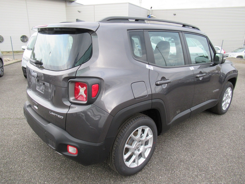 Jeep Renegade 1.6 MULTIJET 120CH LIMITED Gris occasion à Albi - photo n°6