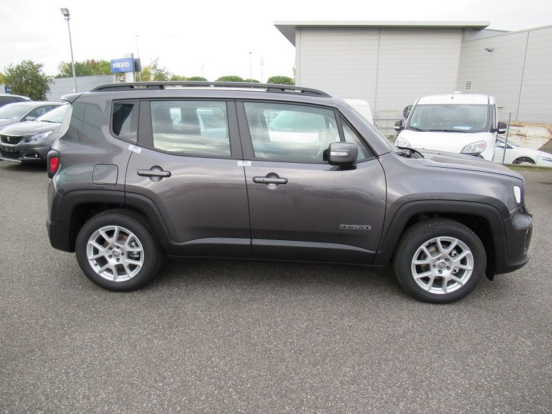 Jeep Renegade 1.6 MULTIJET 120CH LIMITED Gris occasion à Albi - photo n°5