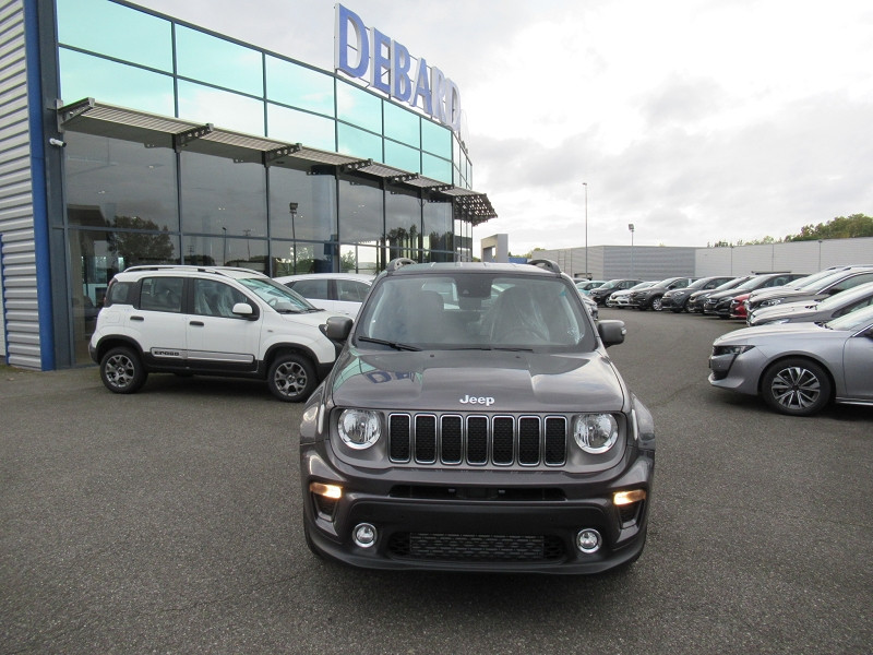 Jeep Renegade 1.6 MULTIJET 120CH LIMITED Gris occasion à Albi - photo n°3