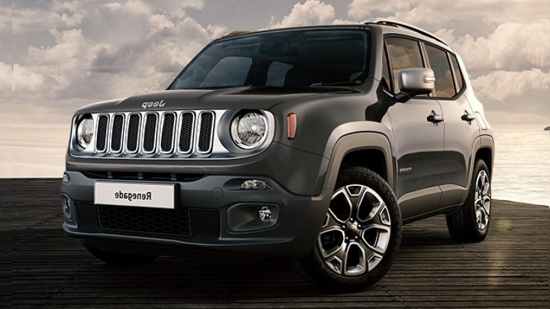 Jeep Renegade 1.6 multijet 130cv bvm6 4x2 limited + full led Gris occasion à Ganges