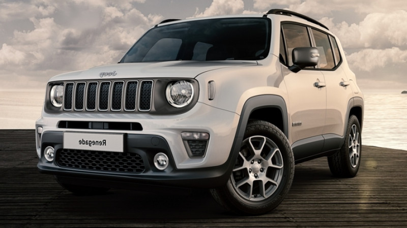 Jeep Renegade 1.6 multijet 130cv bvm6 4x2 limited + full led Blanc occasion à Ganges