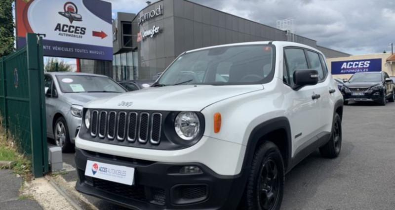 Jeep Renegade 1.6l 110ch Sport Blanc occasion à HERBLAY