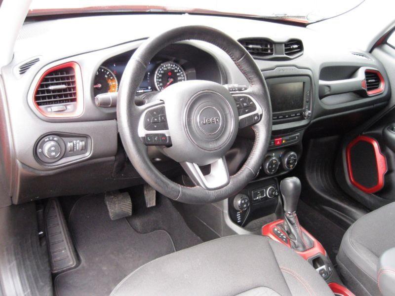 Jeep Renegade 2.0 Multijet 170 4x4 Orange occasion à Beaupuy