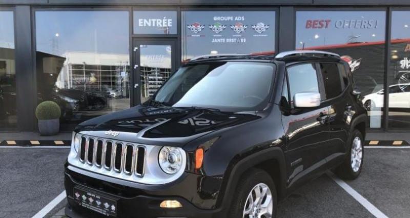 Jeep Renegade Limited Noir occasion à FOETZ