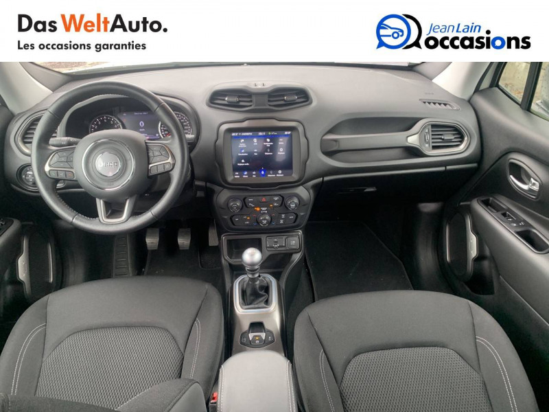 Jeep Renegade Renegade 1.0 GSE 120ch  5p Blanc occasion à Sallanches - photo n°18