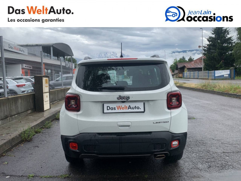 Jeep Renegade Renegade 1.0 GSE 120ch  5p Blanc occasion à Sallanches - photo n°6