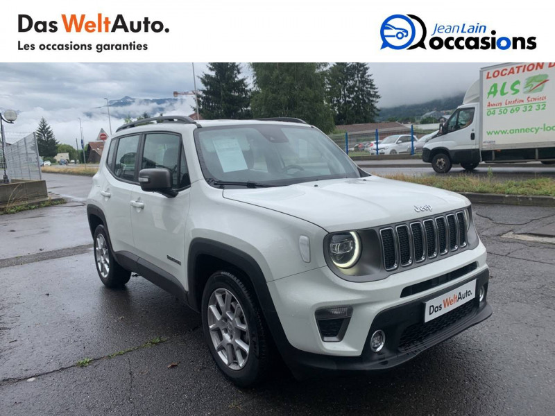 Jeep Renegade Renegade 1.0 GSE 120ch  5p Blanc occasion à Sallanches - photo n°3