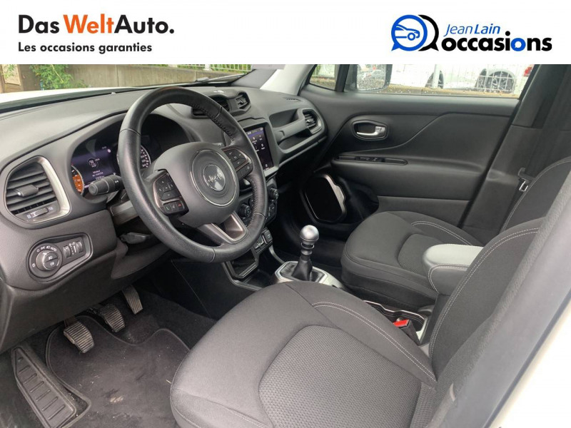 Jeep Renegade Renegade 1.0 GSE 120ch  5p Blanc occasion à Sallanches - photo n°11