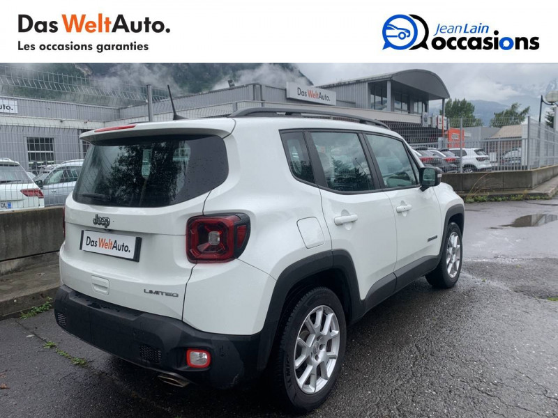 Jeep Renegade Renegade 1.0 GSE 120ch  5p Blanc occasion à Sallanches - photo n°5