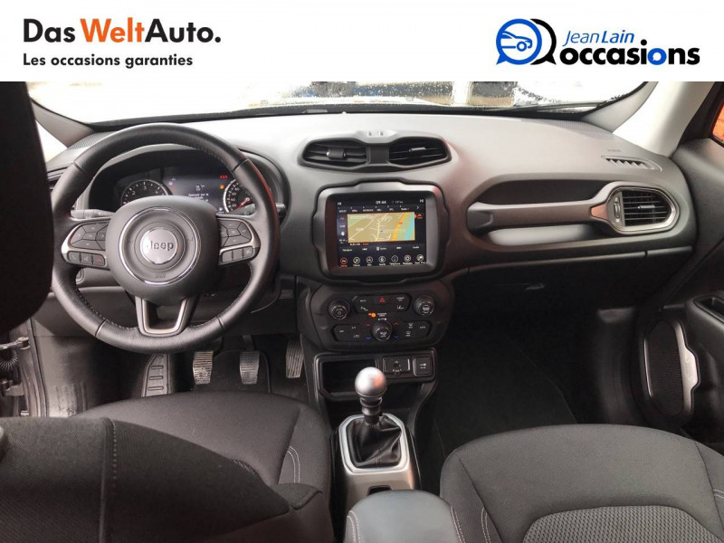 Jeep Renegade Renegade 1.6 l MultiJet 120 ch BVM6 Limited 5p Gris occasion à Sallanches - photo n°18