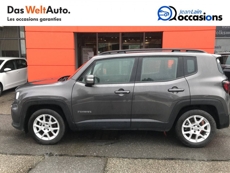 Jeep Renegade Renegade 1.6 l MultiJet 120 ch BVM6 Limited 5p Gris occasion à Sallanches - photo n°8