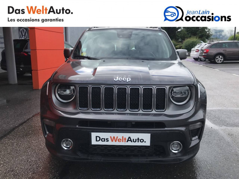 Jeep Renegade Renegade 1.6 l MultiJet 120 ch BVM6 Limited 5p Gris occasion à Sallanches - photo n°2