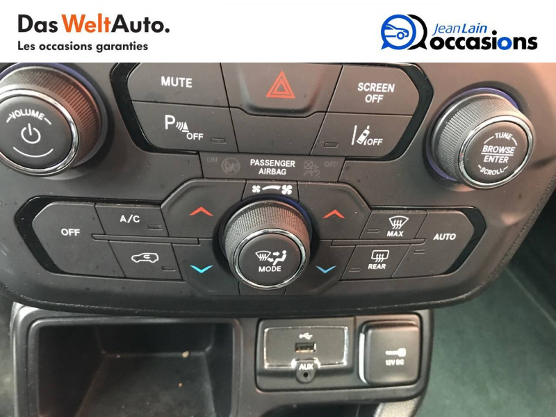 Jeep Renegade Renegade 1.6 l MultiJet 120 ch BVM6 Limited 5p Gris occasion à Sallanches - photo n°14