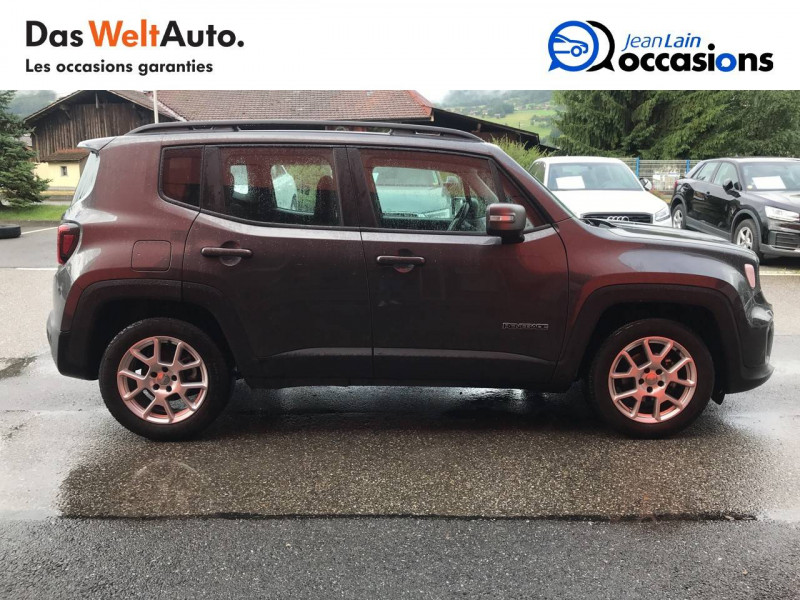 Jeep Renegade Renegade 1.6 l MultiJet 120 ch BVM6 Limited 5p Gris occasion à Sallanches - photo n°4